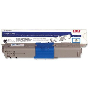 44469703 Toner Cartridge - Okidata Genuine OEM (Cyan)
