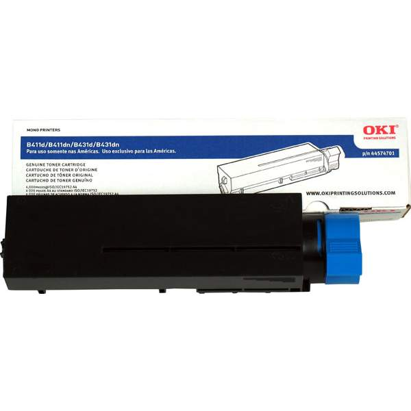 44574701 Toner Cartridge - Okidata Genuine OEM (Black)