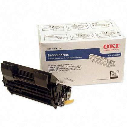52116002 Toner Cartridge - Okidata Genuine OEM (Black)