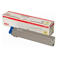52120601 Toner Cartridge - Okidata Genuine OEM (Yellow)