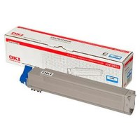 52120603 Toner Cartridge - Okidata Genuine OEM (Cyan)