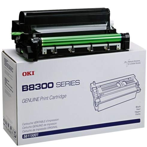 56115001 Toner Cartridge - Okidata Genuine OEM (Black)