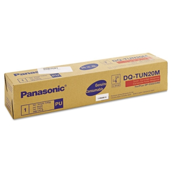 DQ-TUN20M Toner Cartridge - Panasonic Genuine OEM (Magenta)