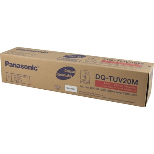 DQ-TUV20M Toner Cartridge - Panasonic Genuine OEM (Magenta)