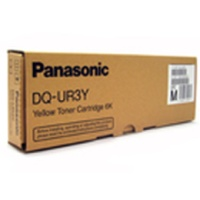 DQ-UR3Y Toner Cartridge - Panasonic Genuine OEM (Yellow)