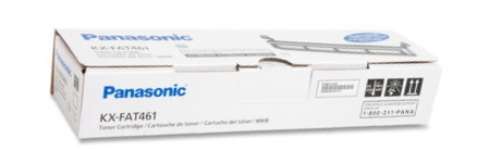 KX-FAT461 Toner Cartridge - Panasonic Genuine OEM (Black)