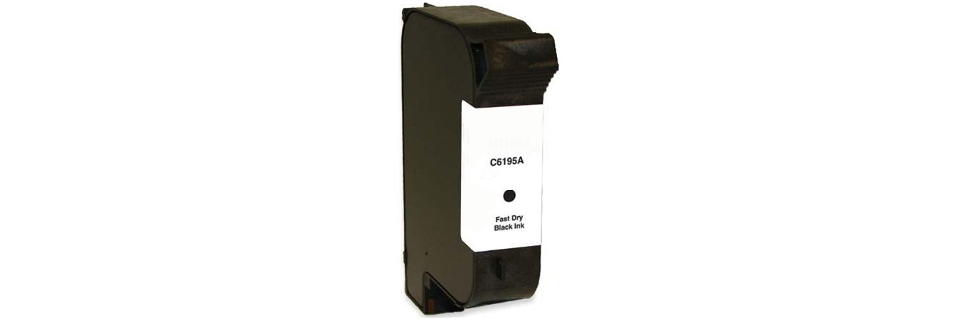 C6195A Ink Cartridge - Pitney Bowes Remanufactured (Fast Dry Black)