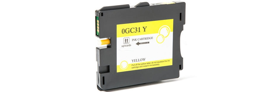 Ricoh 405691 Ink Cartridge - Ricoh Compatible (Yellow)