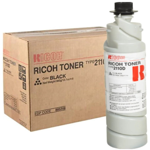 Ricoh 885208 Toner Cartridges - Ricoh Genuine OEM (Black)