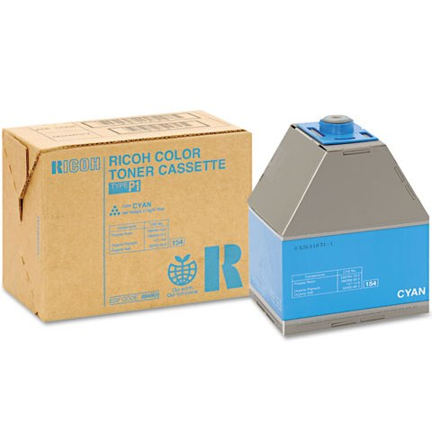 Ricoh 888343 Toner Cartridge - Ricoh Genuine OEM (Cyan)
