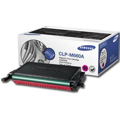 CLP-M660A Toner Cartridge - Samsung Genuine OEM (Magenta)