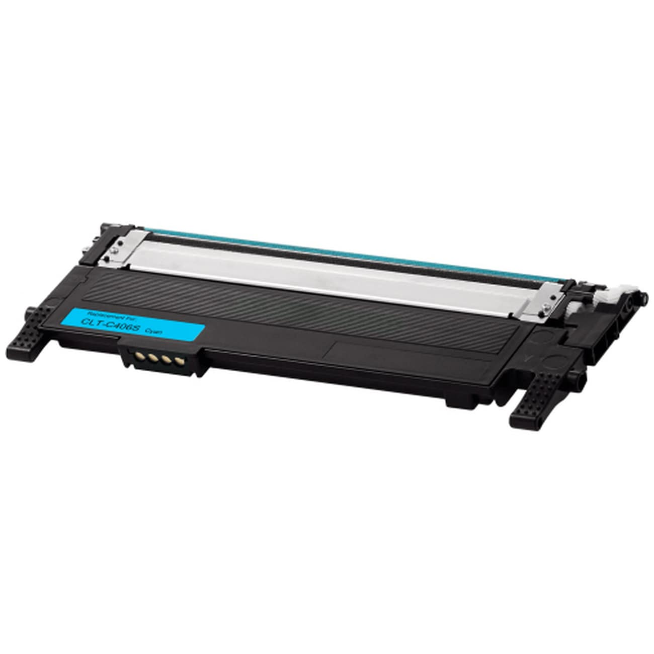 CLT-C406S Toner Cartridge - Samsung Remanufactured (Cyan)