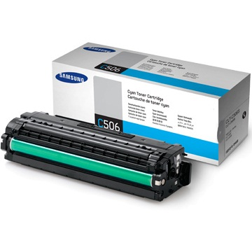 CLT-C506S Toner Cartridge - Samsung Genuine OEM (Cyan)