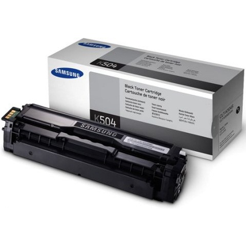 CLT-K504S Toner Cartridge - Samsung Genuine OEM (Black)