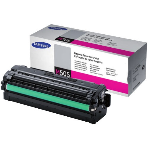 CLT-M505L Toner Cartridge - Samsung Genuine OEM (Magenta)