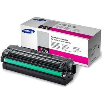 CLT-M506L Toner Cartridge - Samsung Genuine OEM (Magenta)