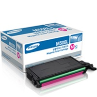 CLT-M508L Toner Cartridge - Samsung Genuine OEM (Magenta)