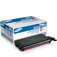 CLT-M508S Toner Cartridge - Samsung Genuine OEM (Magenta)