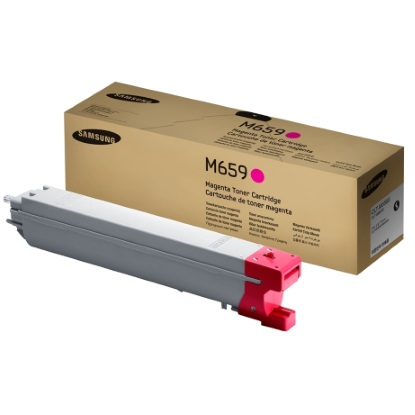 CLT-M659S Toner Cartridge - Samsung Genuine OEM (Magenta)