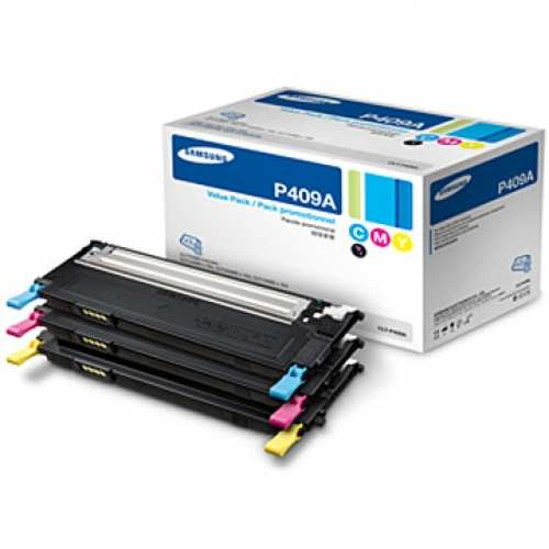 CLT-P409A Toner Cartridges - Samsung Genuine OEM