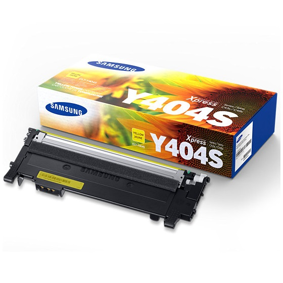 CLT-Y404S Toner Cartridge - Samsung Genuine OEM (Yellow)