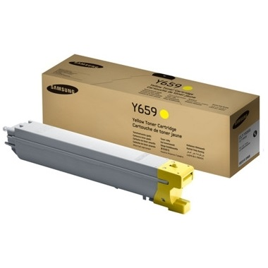 CLT-Y659S Toner Cartridge - Samsung Genuine OEM (Yellow)