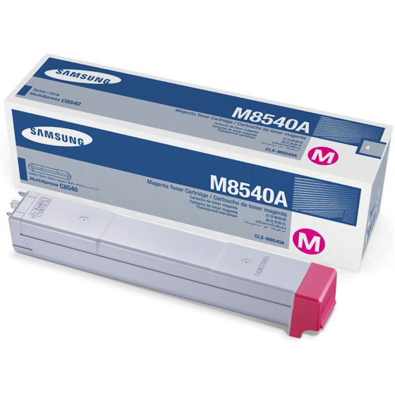 CLX-M8540A Toner Cartridge - Samsung Genuine OEM (Magenta)
