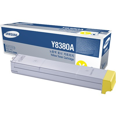 CLX-Y8380A Toner Cartridge - Samsung Genuine OEM (Yellow)