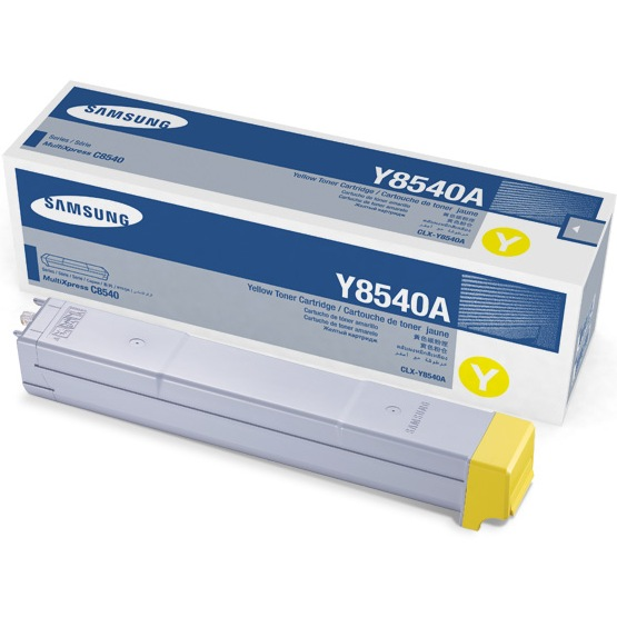 CLX-Y8540A Toner Cartridge - Samsung Genuine OEM (Yellow)