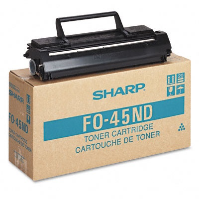 FO-45ND Toner Cartridge - Sharp Genuine OEM (Black)