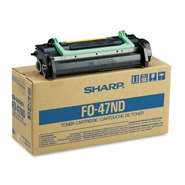 FO-47ND Toner Cartridge - Sharp Genuine OEM (Black)