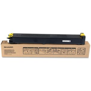 MX-27NTYA Toner Cartridge - Sharp Genuine OEM (Yellow)