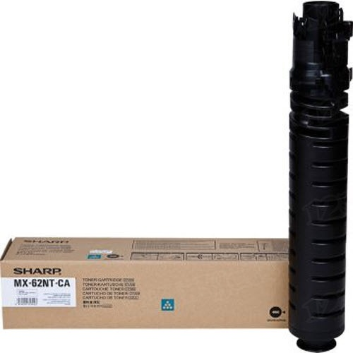 MX-62NTCA Toner Cartridge - Sharp Genuine OEM (Cyan)