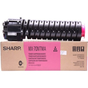 MX-70NTMA Toner Cartridge - Sharp Genuine OEM (Magenta)