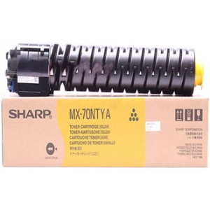 MX-70NTYA Toner Cartridge - Sharp Genuine OEM (Yellow)