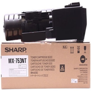 MX-753NT Toner Cartridge - Sharp Genuine OEM (Black)