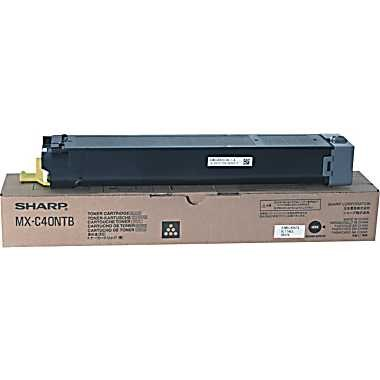 MX-C40NTB Toner Cartridge - Sharp Genuine OEM (Black)