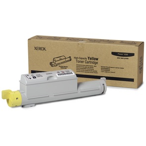 106R01220 Toner Cartridge - Xerox Genuine OEM (Yellow)