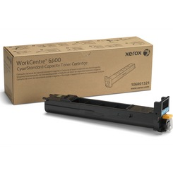 106R01320 Toner Cartridge - Xerox Genuine OEM (Cyan)
