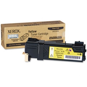106R01333 Toner Cartridge - Xerox Genuine OEM (Yellow)