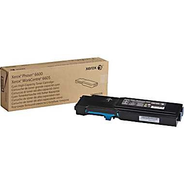 106R02225 Toner Cartridge - Xerox Genuine OEM (Cyan)
