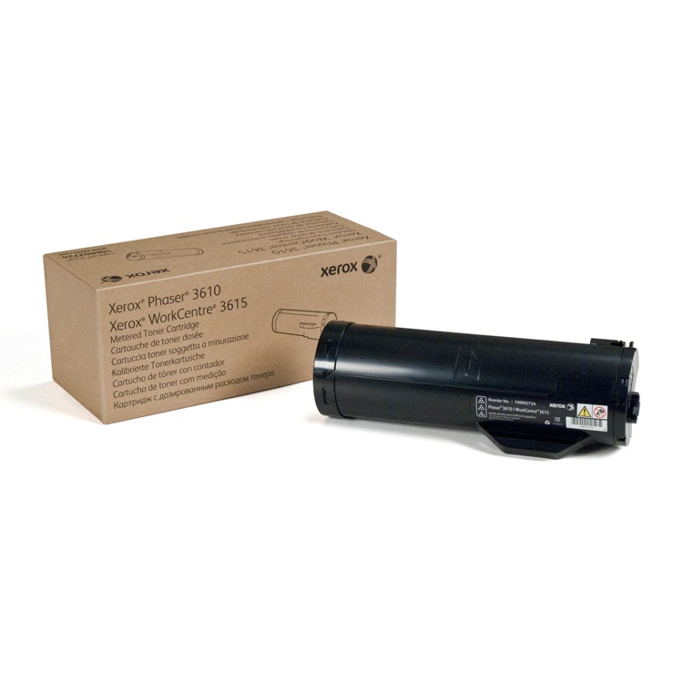 106R02720 Toner Cartridge - Xerox Genuine OEM (Black)