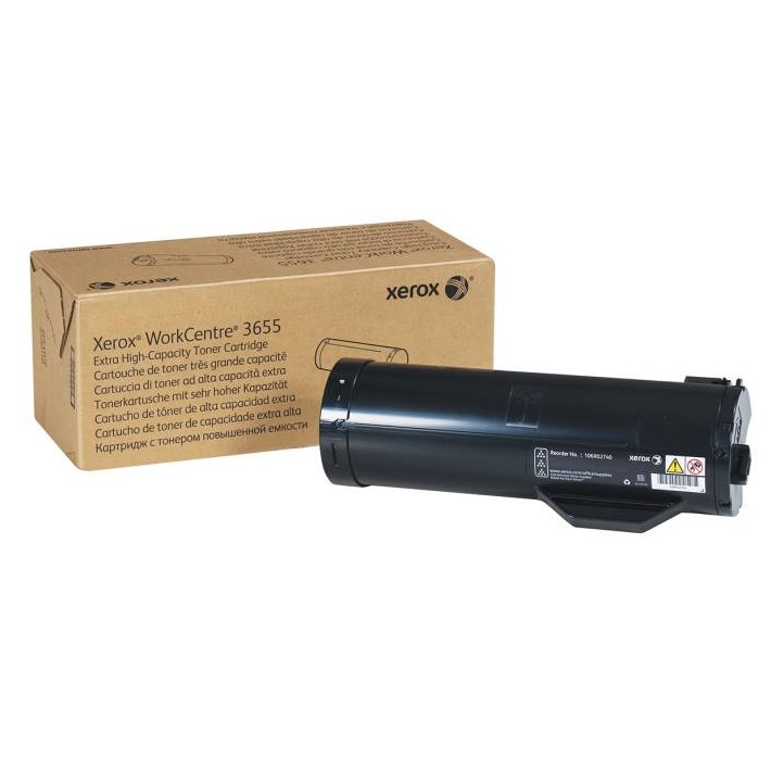106R02736 Toner Cartridge - Xerox Genuine OEM (Black)