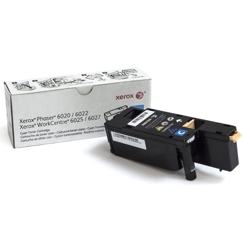 106R02756 Toner Cartridge - Xerox Genuine OEM (Cyan)