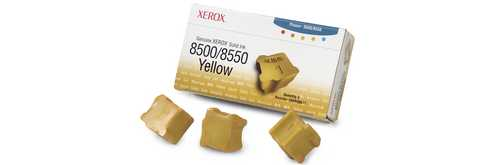 108R00671 Solid Ink Sticks - Xerox Genuine OEM (Yellow)