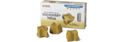 108R00725 Solid Ink Sticks - Xerox Genuine OEM (Yellow)