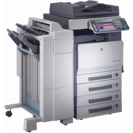 Enabling user authentication or account track on the printer driver.