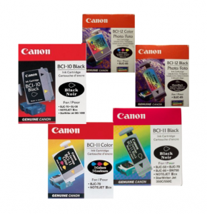 Canon BJC-55 and BJC-85 ink
