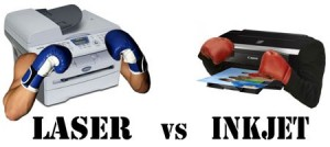 laser vs. inkjet
