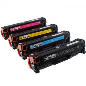 Four toner cartridges